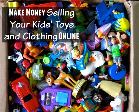Make Money Selling Clothes Online - make money selling your kids toys and clothing online