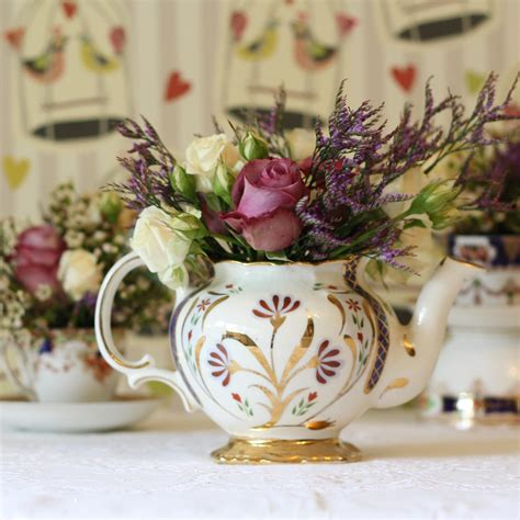 Vintage China   wedding props to hire passion for flowers