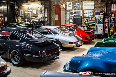magnus walker porsche collection magnus walker s epic porsche garage collection