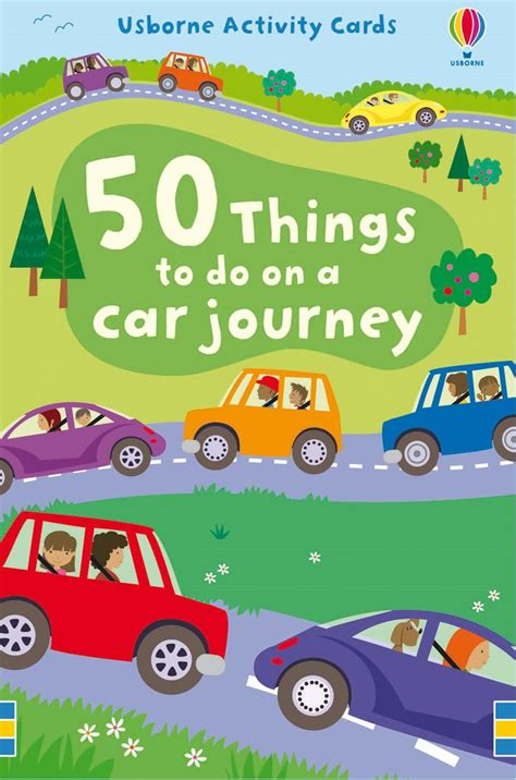 50 Things To Do With A Book 50 things to do on a car journey at usborne books at home