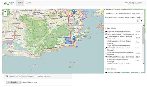 json map javascript load json file and append it to a map stack