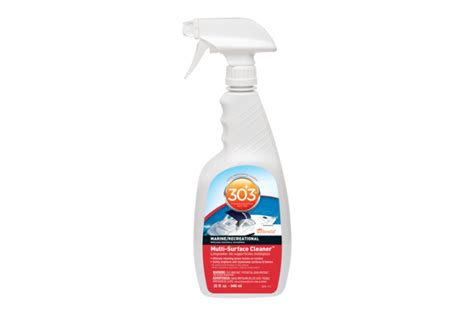 Cleaning Marine Vinyl Upholstery by 303 Multi Surface Boat Cleaner For Vinyl Upholstery