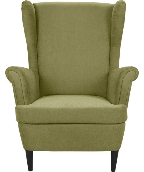 argos armchair buy wingback fabric chair green at argos co uk your