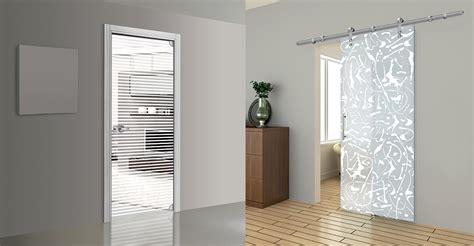 porte interne moderne in vetro porte interne erre effe