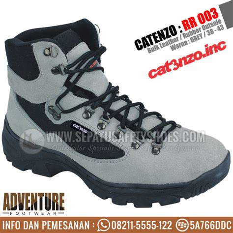 New Sepatu Outdoor Catenzo Rr 003 Adventure Boots Sepatu Gunun sepatu gunung catenzo rr 003