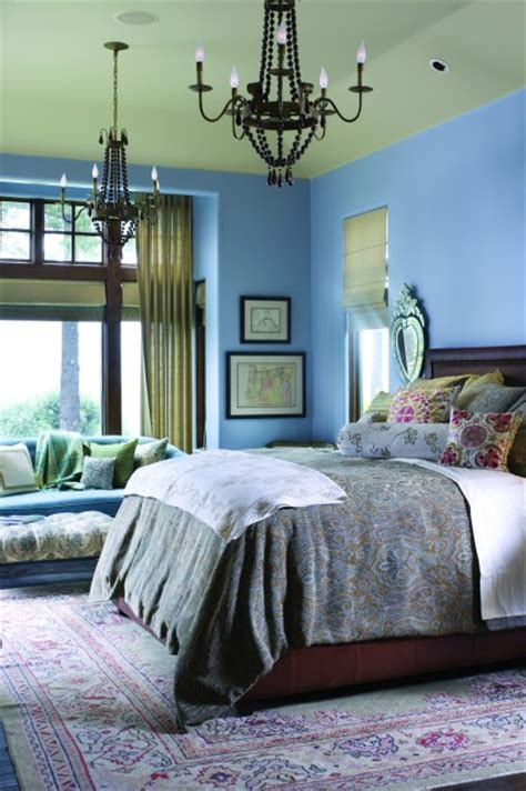 french blue bedrooms french country elegance traditional bedroom portland