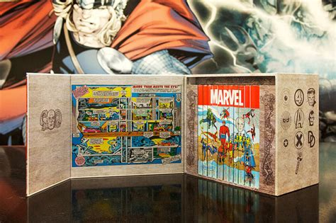 Komix Rasa Jahe 1 Box marvel collects legendary firsts in 75th anniversary box