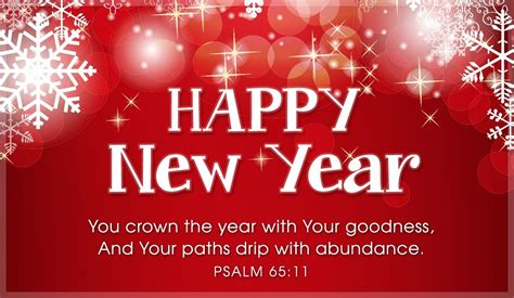 new years scripture new year psalm 65 11 ecard free new year cards
