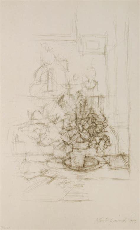 vaso con pianta alberto giacometti vaso con pianta