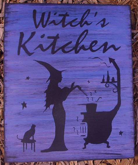 spell it out the kitchen witch volume 9 books primitive witches kitchen witch sign sleepyhollowprims