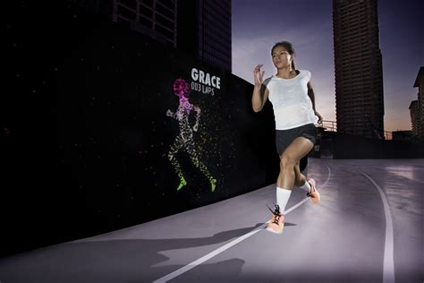 nike s unlimited stadium in manila is the world s first nike has put a giant shoe shaped running track in the