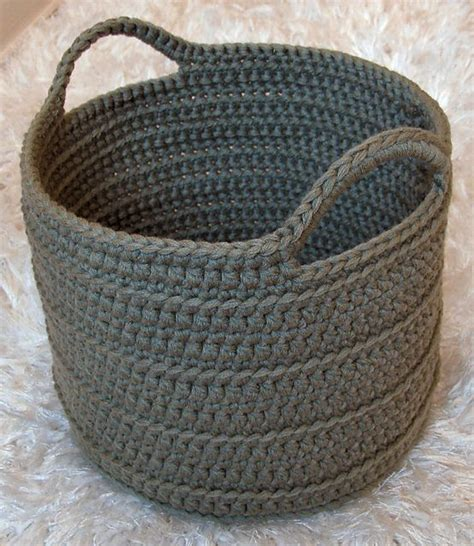 Trellis Crochet Pattern Ravelry Project Gallery For Chunky Crocheted Basket