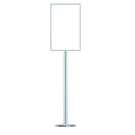 sign stands 1310 sign stand idec displays