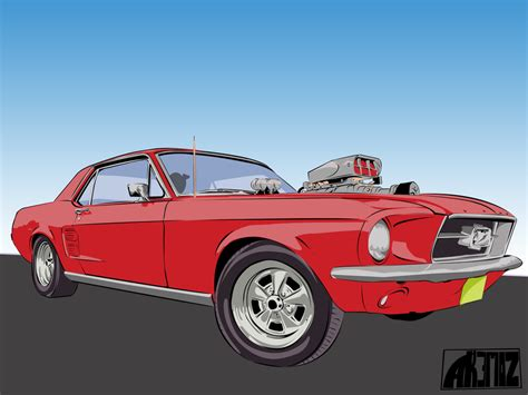 ford supercharger ford mustang supercharger vector by lokmanakem on deviantart