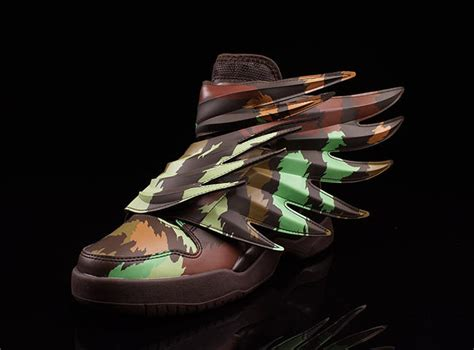 Adidas Light Em Up 2 0 Green adidas wings 3 0 camo sneakerfiles