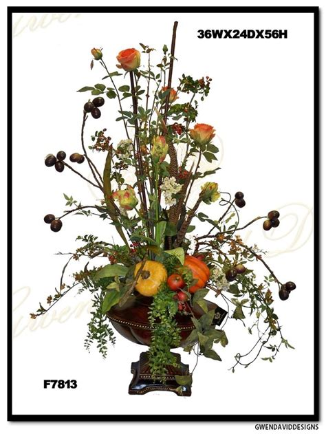 17 best images about tuscan floral on pinterest feathers tuscany silk flower arrangement by gwen david designs