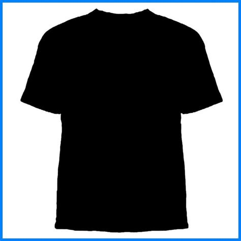 T Shirt Black Template Black T Shirt Template Front And Back Clipart Beautiful Template Design Black T Shirt Template