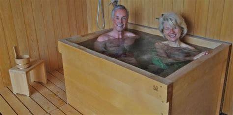 hinoki bathtub wooden bathtubs giving that rustic feel to your bathroom