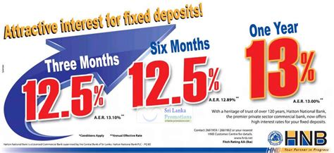 Hatton National Bank Letter Of Credit Hnb Bank Fixed Deposit Rates 8 Jun 2012