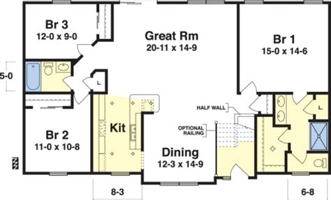 Bradley by Simplex Modular Homes Ranch Floorplan