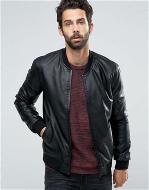 Jaket Bomber Simple Inv s leather jackets leather coat and biker jacket