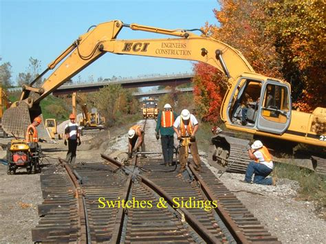 railroad construction eci engineers construction