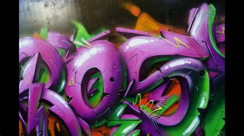 rasko style evolution graffiti bombing street art video