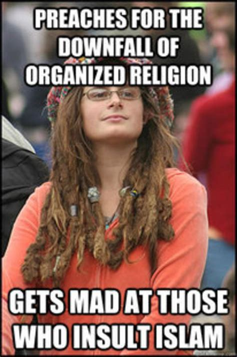 College Liberal Meme - college liberal on religion college liberal know your meme