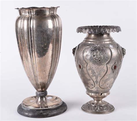 vasi argento due vasi differenti in argento italia argenti e