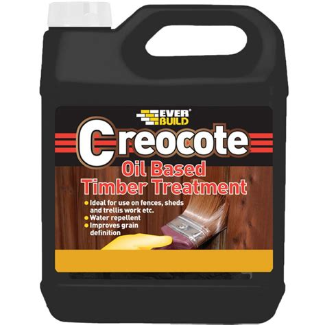 everbuild creocote wood preservative treatment