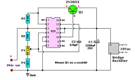 Sale Adaptor 2 1a 10 Wat 9v power supply circuit