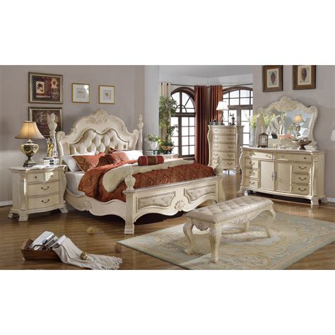 meridian furniture usa monaco panel customizable bedroom