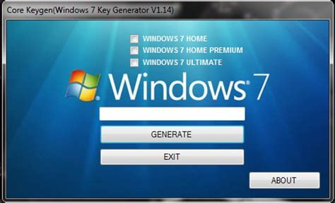 windows 7 cd key generator 32bit and 64bit product codes