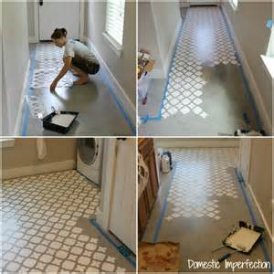 concrete templates stencils stenciling a concrete floor domestic imperfection
