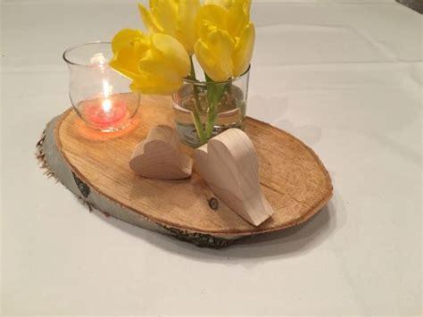 Tischdeko Hochzeit Kaufen by Holzscheiben Baumscheiben Hochzeit Dekorieren Basteln