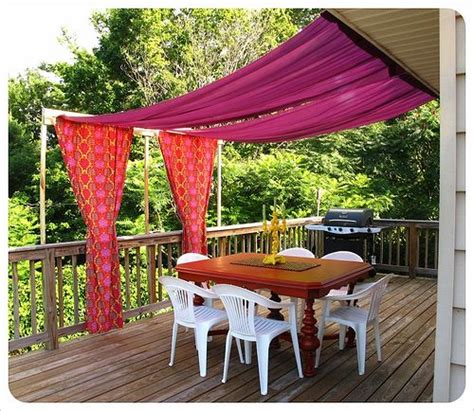 Backyard Canopy Diy by Diy Outdoor Canopy Outdoors Tents