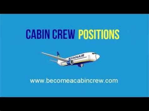 become a cabin crew how to become a cabin crew ryanair