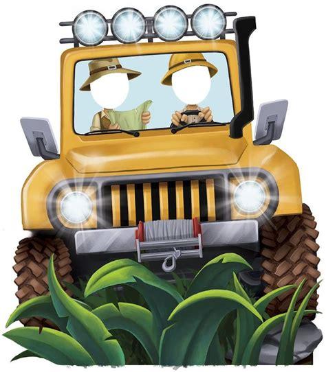 cartoon safari jeep 696 best animal printable images on pinterest bricolage