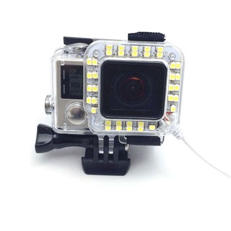 Gopro 4 White pannovo g 784 fill light for gopro 3 4