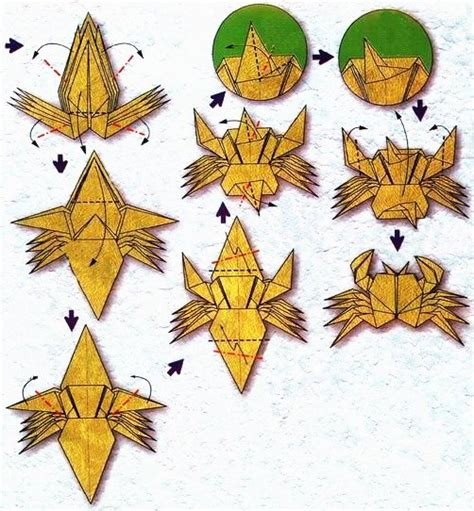 origami of the zodiac the cancer