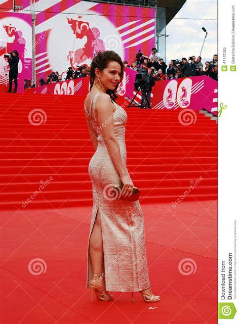 Famous Stairs actress ekaterina guseva at xxxvi moscow international