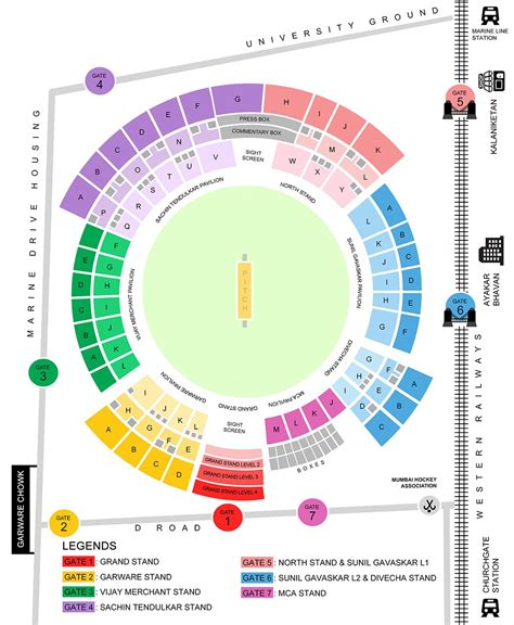 layout get view mumbai wankhede stadium ipl 2018 tickets mi ipl 2018