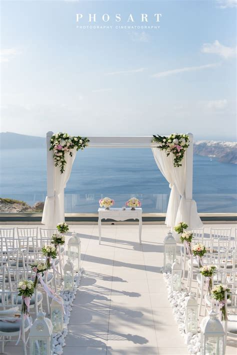 Endless view. Santorini Weddings, Wedding venue, Wedding