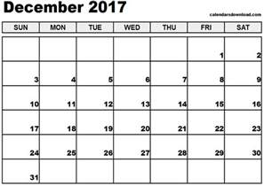 Calendar Pages 2017 Calendar Pages December 2017 Calendar Template 2017