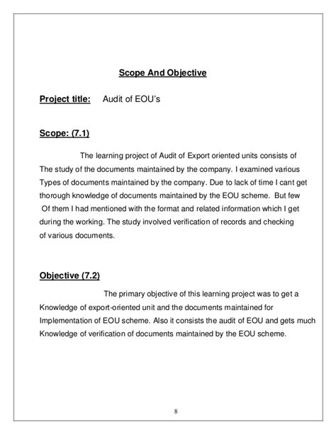 consent letter format of auditor audit of export oriented unit