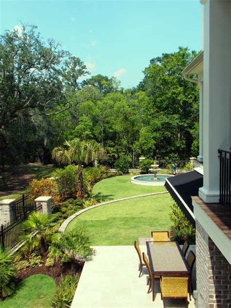 B Sept Charleston Landscape Terracing Charleston Landscape Design Charleston Sc