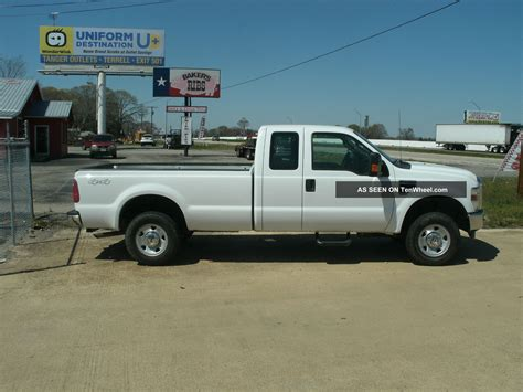 F250 Bed by 2010 F250 Xl Duty Ext Cab Bed 4x4 4wd Truck