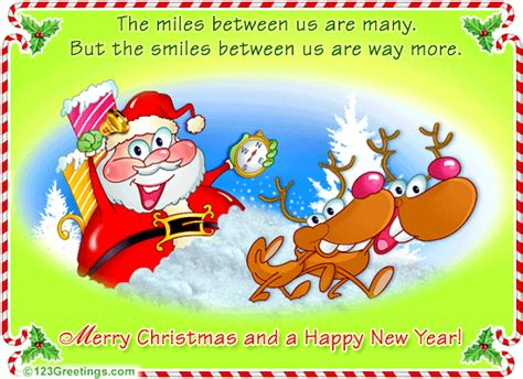 merry christmas long distance distance makes the grow fonder free merry wishes ecards 123 greetings