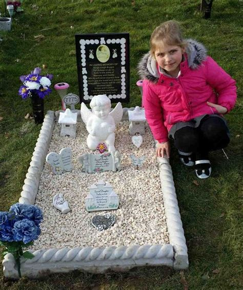 Grave Decorations For Babies by Left Heartbroken After Council Orders To Remove