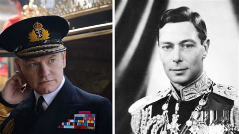 actor king george vi the crown how the crown stars compare to their real life